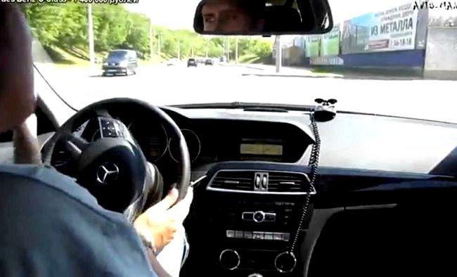 Mercedes C Class тест драйв стиля ни BMW, ни
