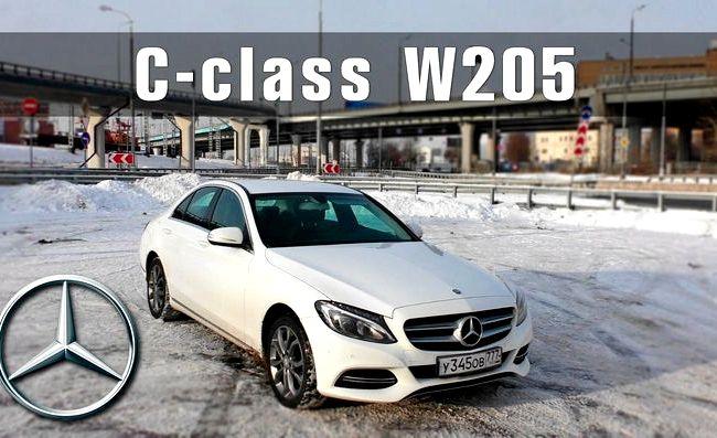 Mercedes C Class тест драйв