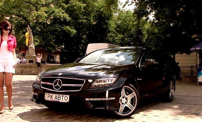 Mercedes Cls тест драйв