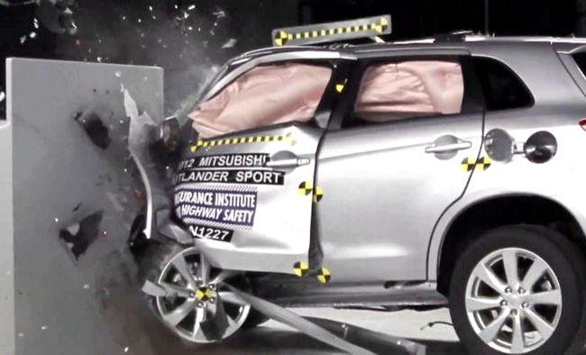 Mitsubishi Asx краш тест