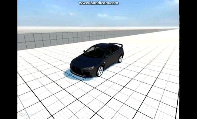 Mitsubishi Lancer X краш тест собран из дешевого пластика