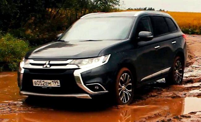 Mitsubishi Outlander Iii Рестайлинг 2 тест драйв видео