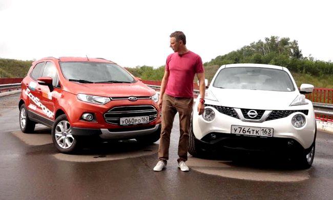 Nissan Juke тест драйв
