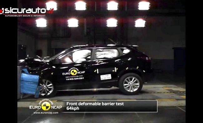 Nissan Qashqai краш тест