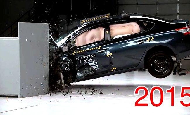 Nissan Teana краш тест