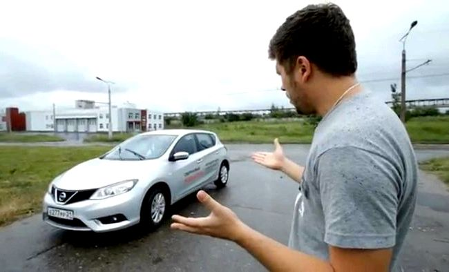 Nissan Tiida тест драйв Нам досталась машина