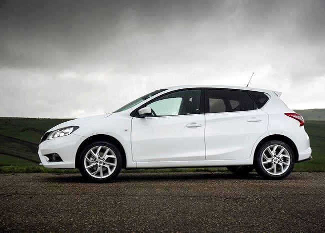 Nissan Tiida тест драйв