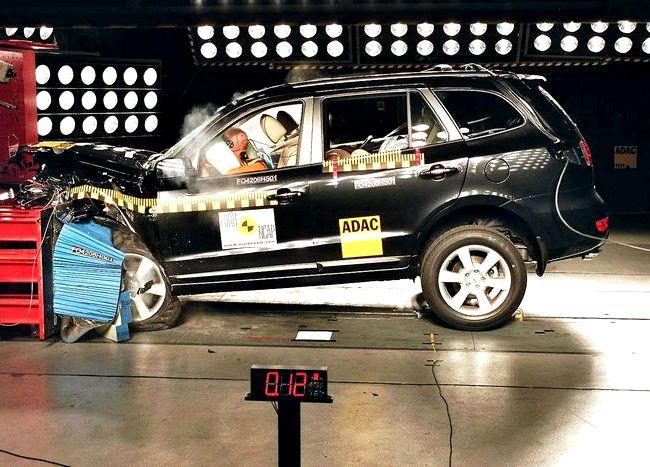 Opel Antara краш тест