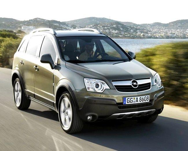 Opel Antara тест драйв