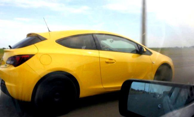 Opel Astra Gtc тест драйв