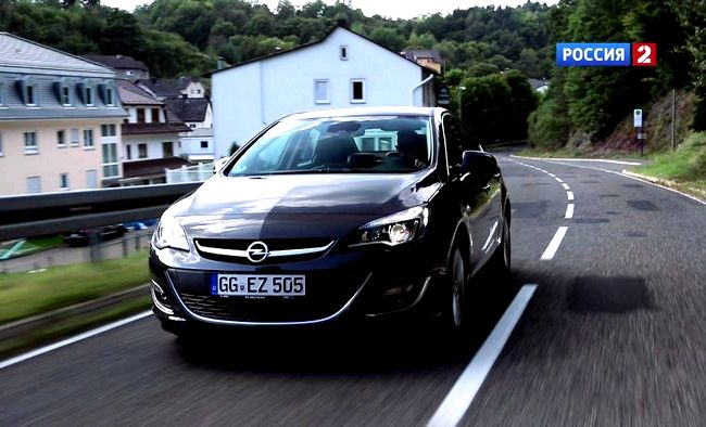 Opel Astra Хэтчбек тест драйв