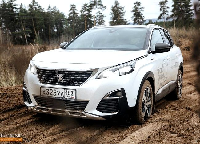 Peugeot 3008 тест драйв изучить со