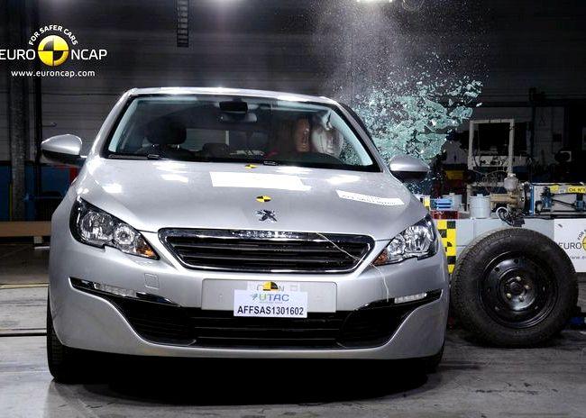 Peugeot 308 краш тест