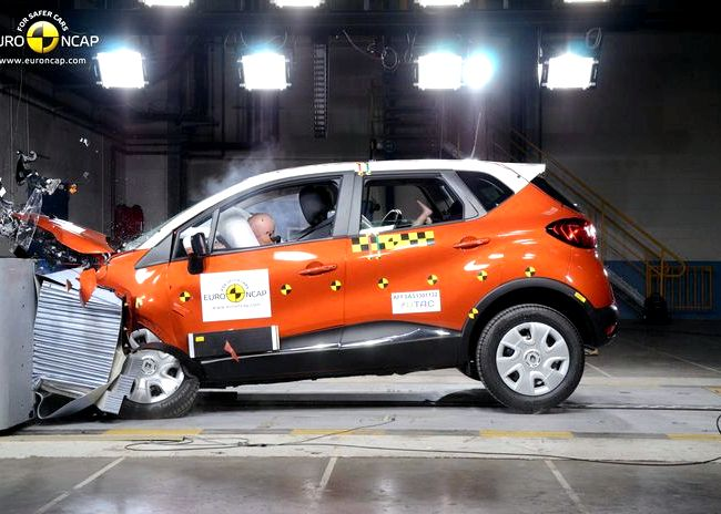 Renault Kaptur краш тест