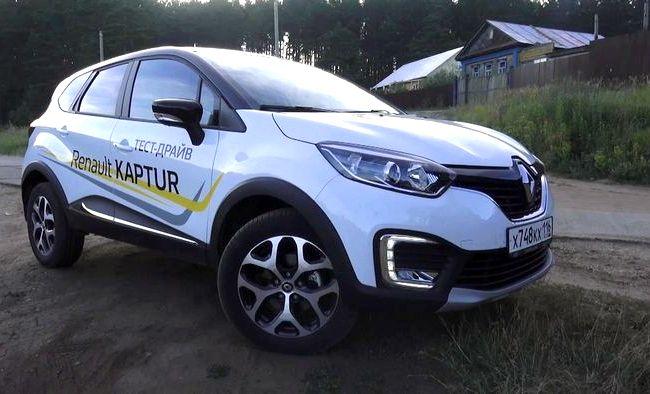Renault Kaptur тест драйв