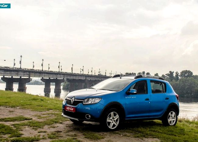 Renault Sandero Stepway тест драйв На какие еще преимущества