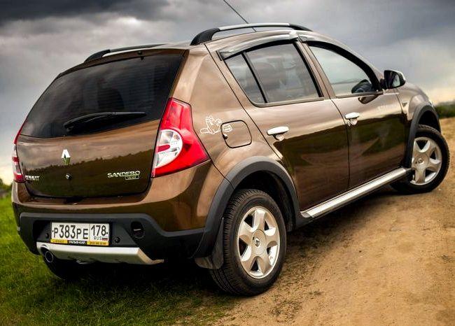 Renault Sandero Stepway тест драйв