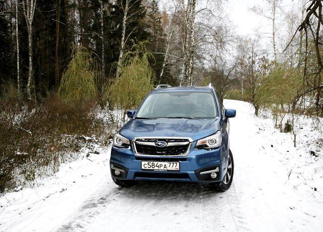 Subaru Forester тест драйв