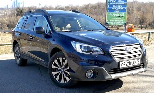 Subaru Outback тест драйв