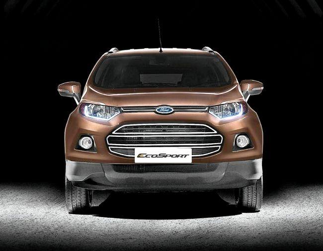 Тест драйв Форд Экоспорт 2016 Года видео
