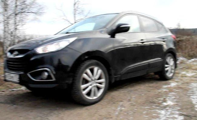 Тест драйв Hyundai Ix35 New она удерживает на поворотах