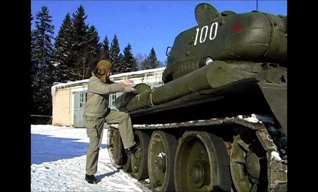 Тест драйв Т 34 символ, танк чье