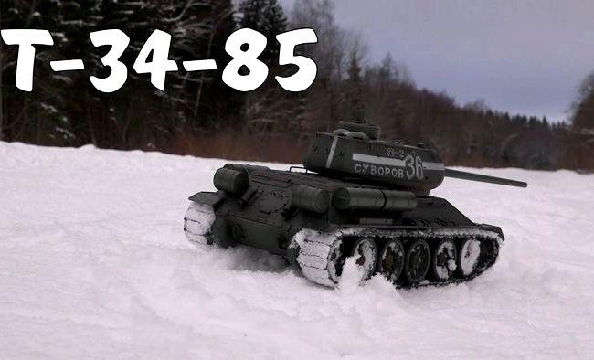Тест драйв Т 34