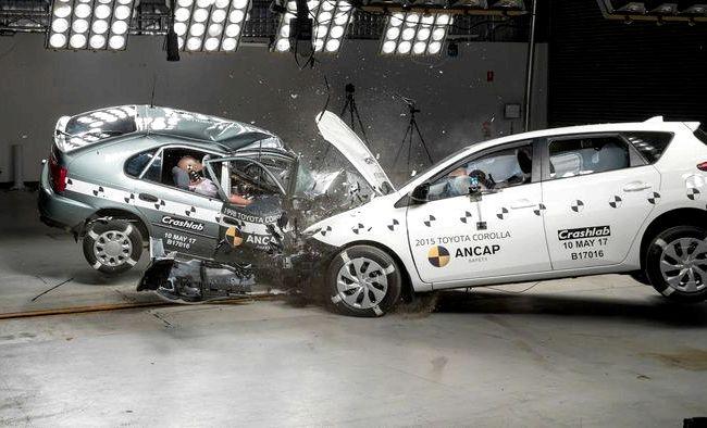 Toyota Corolla краш тест австралийском подразделении европейской