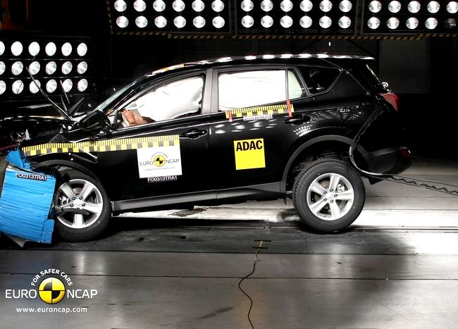 Toyota Rav4 краш тест