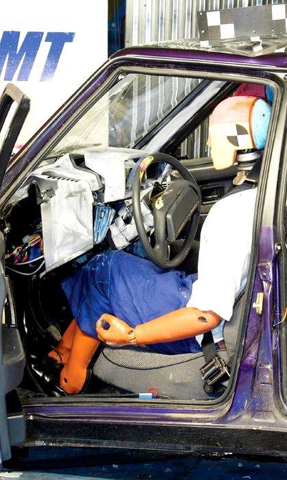 Ваз 2109 краш тест нет, то при серьезной аварии