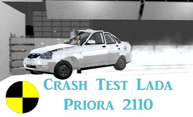 Видео краш тест Приора