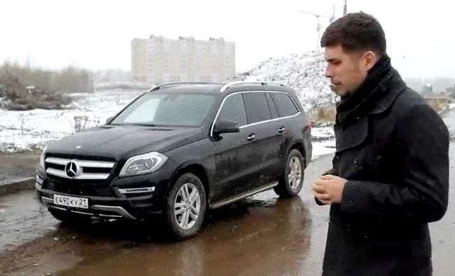 Видео тест драйв Мерседес Gl