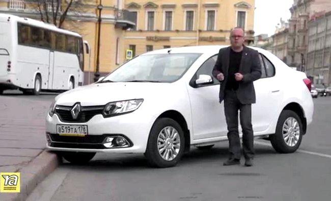 Видео тест драйв Рено Логан