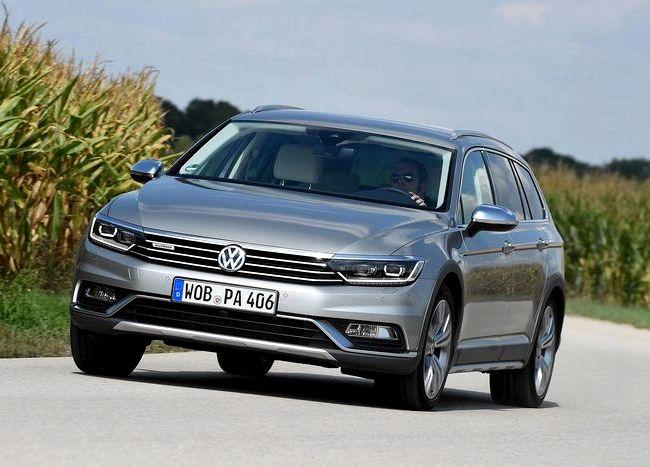 Volkswagen Passat тест драйв