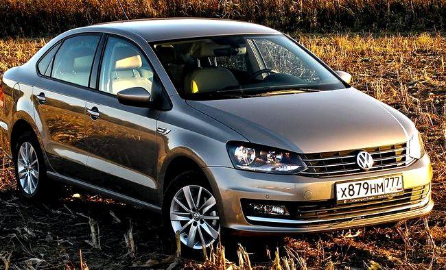 Volkswagen Polo Седан тест драйв