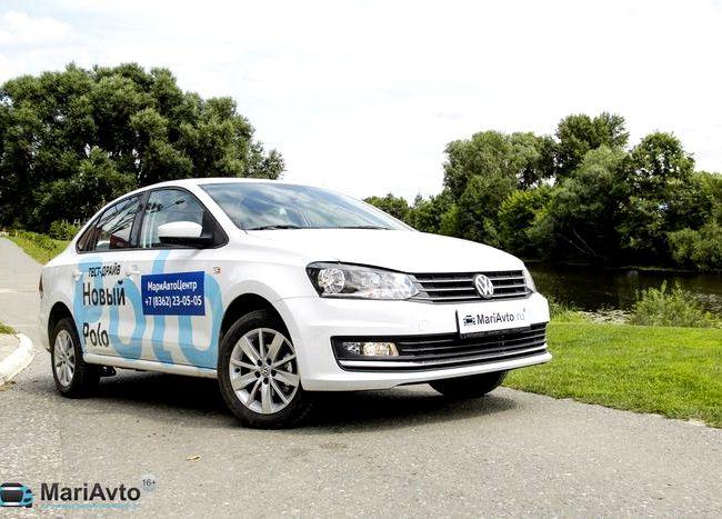 Volkswagen Polo тест драйв