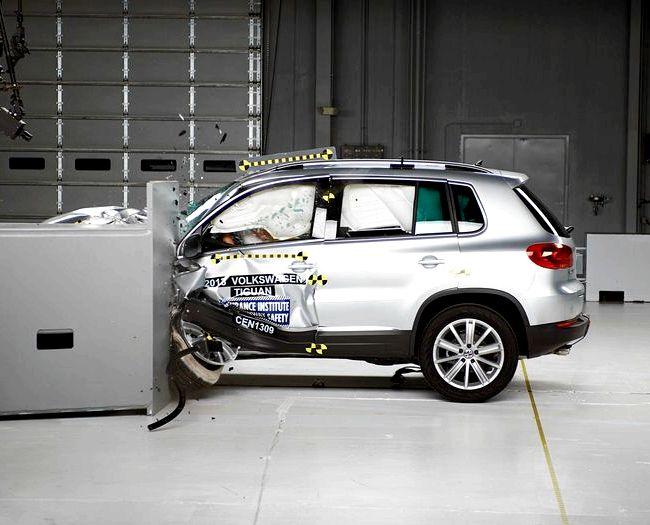 Volkswagen Tiguan краш тест