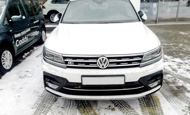 Volkswagen Tiguan тест драйв