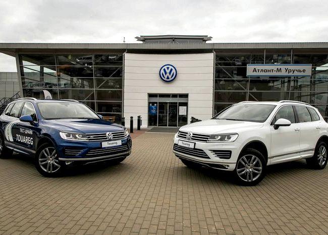 Volkswagen Touareg тест драйв на те
