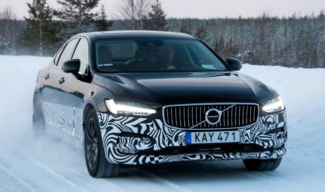 Volvo S90 тест драйв